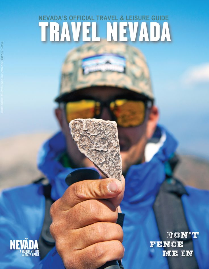 Get the FREE 2015 Nevada Visitors Guide - a perfect companion for the many road trip opportunities in the Silver State. #TravelNevada #DontFenceMeIn