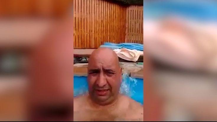 """Un oficial de Gendarmería Nacional fue expulsado de la fuerza después de difundirse un video en Youtube en el cual se lo ve, desde el interior de una pileta con hidromasaje en un hotel de Bariloche, haciendo bromas sobre el operativo de rescate del submarino ARA San Juan y acerca del """"estrés"""" que implica formar parte del operativo de seguridad del G20 en esa ciudad cordillerana."""