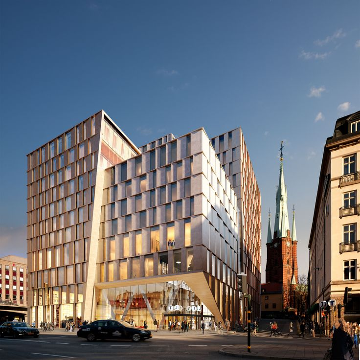 Stockholm city station by 3XN Architects