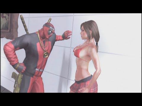 Deadpool - Cutscenes/Funny Moments (Part 4) - Prison