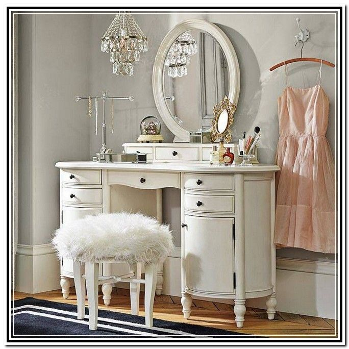 Makeup Table Vanity Vintage