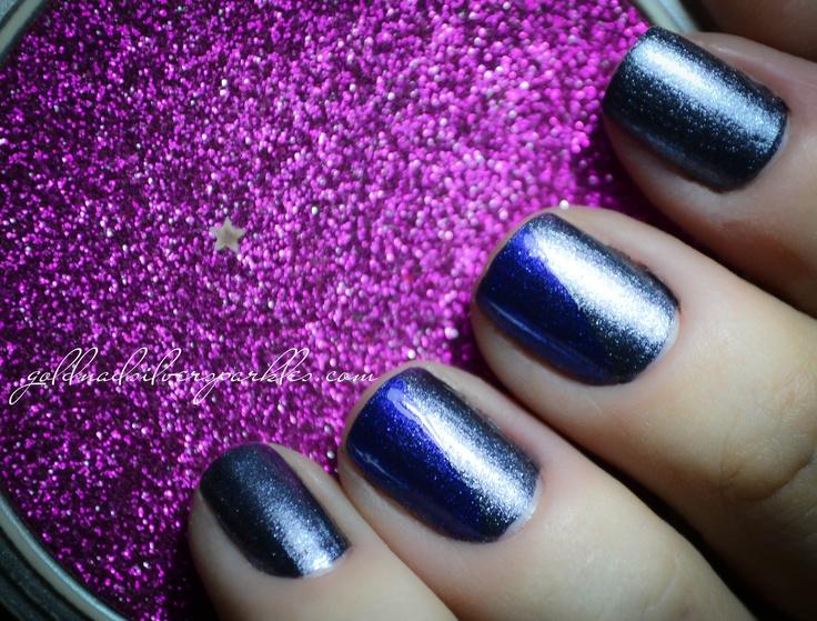 http://www.goldandsilversparkles.com/2012/11/essence-colour-and-change-2-step-mani.html #beautyblog #nails #blogs #notd