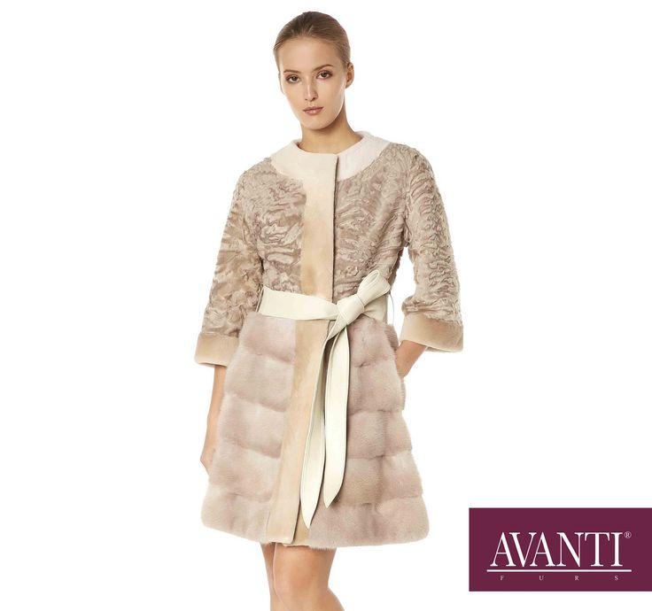 AVANTI FURS - MODEL: MONICA SWAKARA JACKET with Mink and Leather details #avantifurs #fur #fashion #swakara #luxury #musthave #мех #шуба #стиль #норка #зима #красота #мода #topfurexperts