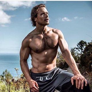 "Sonia (@soniamartink) on Instagram: ""Sam Heughan for Men Health @samheughan #outlander #menhealth #outlanderstarz #jamiefraser"""