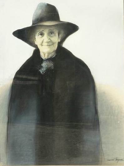 Momo Kapor - portret Desanke Maksimović