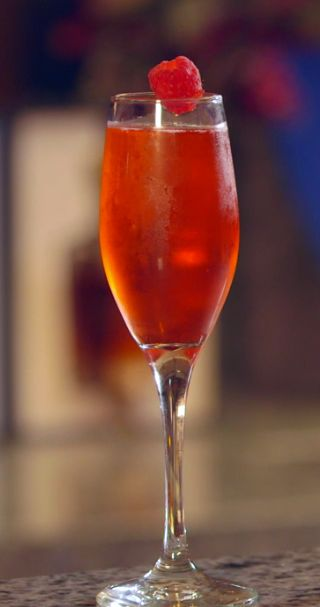 Disney Cruise Line Recipe: Fireworks Cocktail for New Years Eve from the Merrytime Cruise