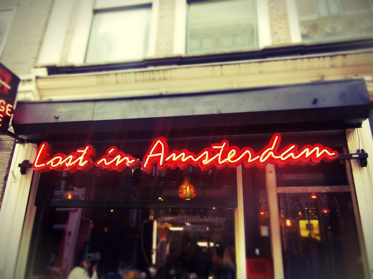 Lost in Amsterdam - Coffee Shop, Amsterdam, The Netherlands