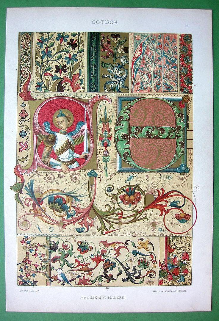 Рукопись в Готическую эпоху Средневековья от martin2001