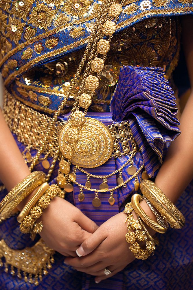 khmer dress #wedding