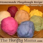 Homemade Playdough Recipe Main Image
