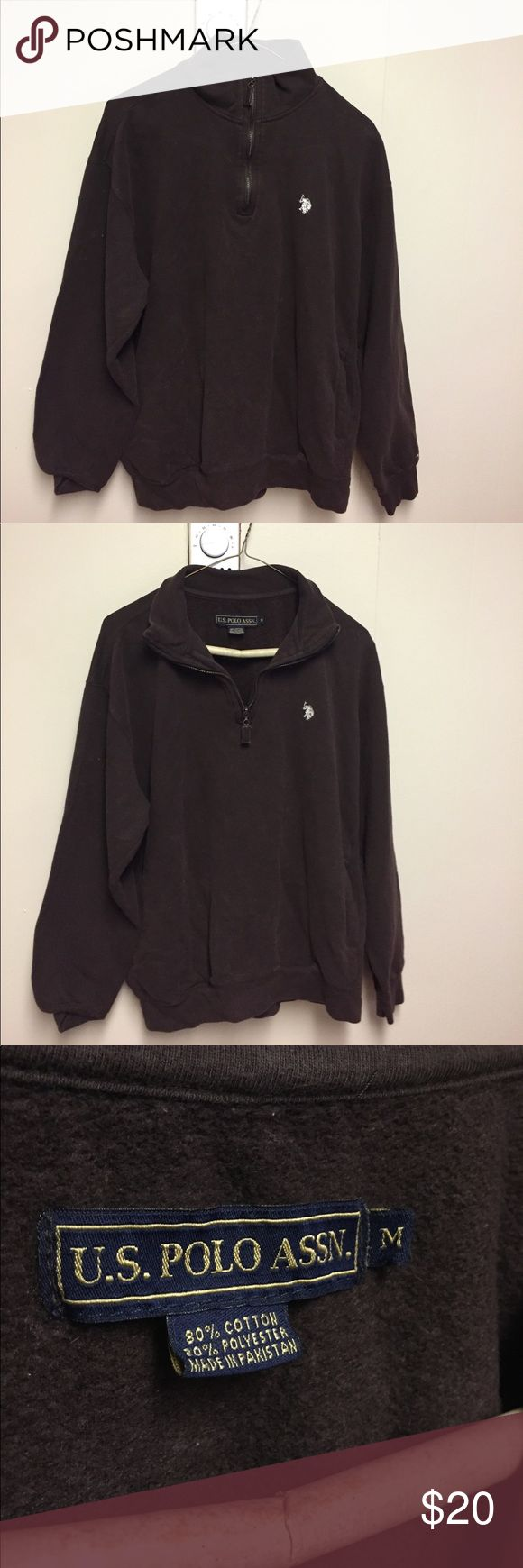 US Polo pullover US Polo Pullover with three quarter zipper U.S. Polo Assn. Sweaters