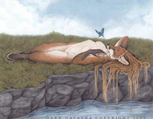 фурри-арт лисы
