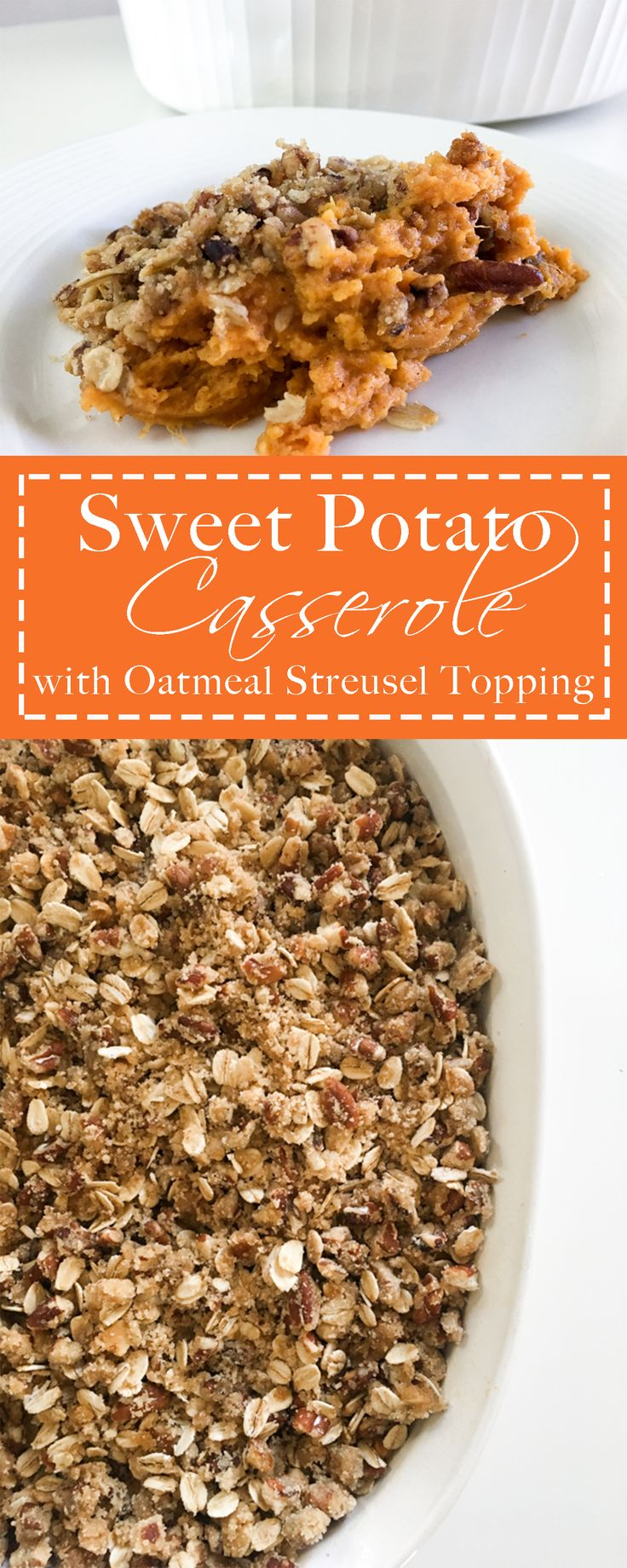 This Thanksgiving staple gets an extra flavor kick with brown butter oatmeal streusel topping! Make sure to include this side this at your table.