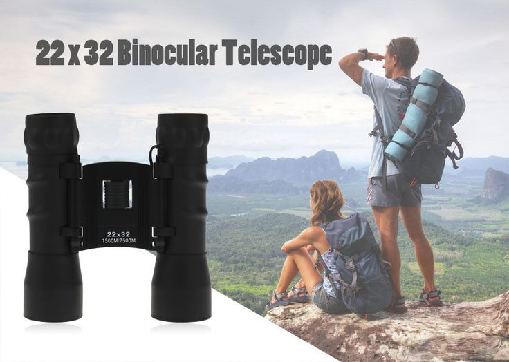 Outdoor Hunting Sports 22 x 32 1500M / 7500M Foldable Portable Binocular