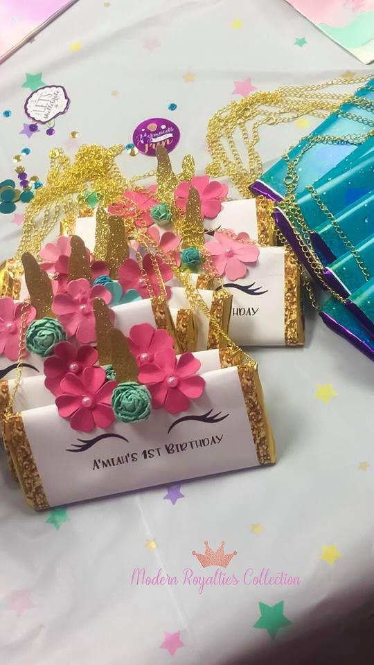 Unicorn party favors | unicorn themed birthday party | unicorn chip bags | unico…