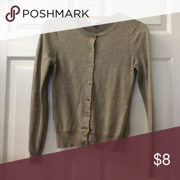 Shiny gold cardigan New York S Ships within 24 hours! New York & Company Sweaters Cardigans
