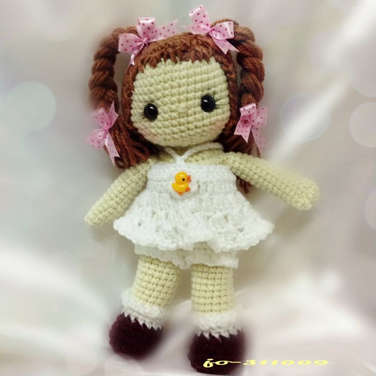 135 Best Images About Crochet Dolls & Doll Clothes On
