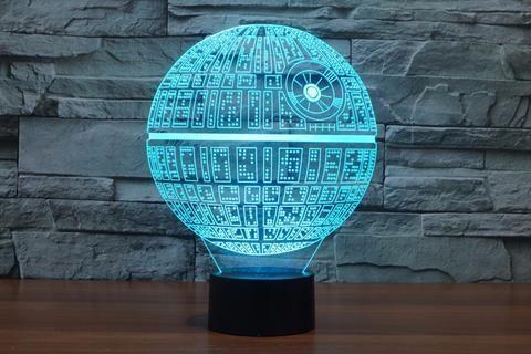 Star Wars Death Star 3D LED Light Lamp