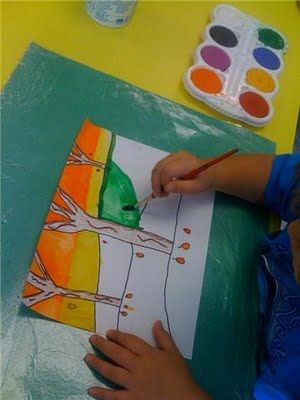 Foreground, Middle and Background trees, 2nd Grade: Backgrounds Trees, Art Docent, Middle Ground, Art Lessons, 2Nd Grades, Art Class, Art Ideas, Art Activities, Art Projects