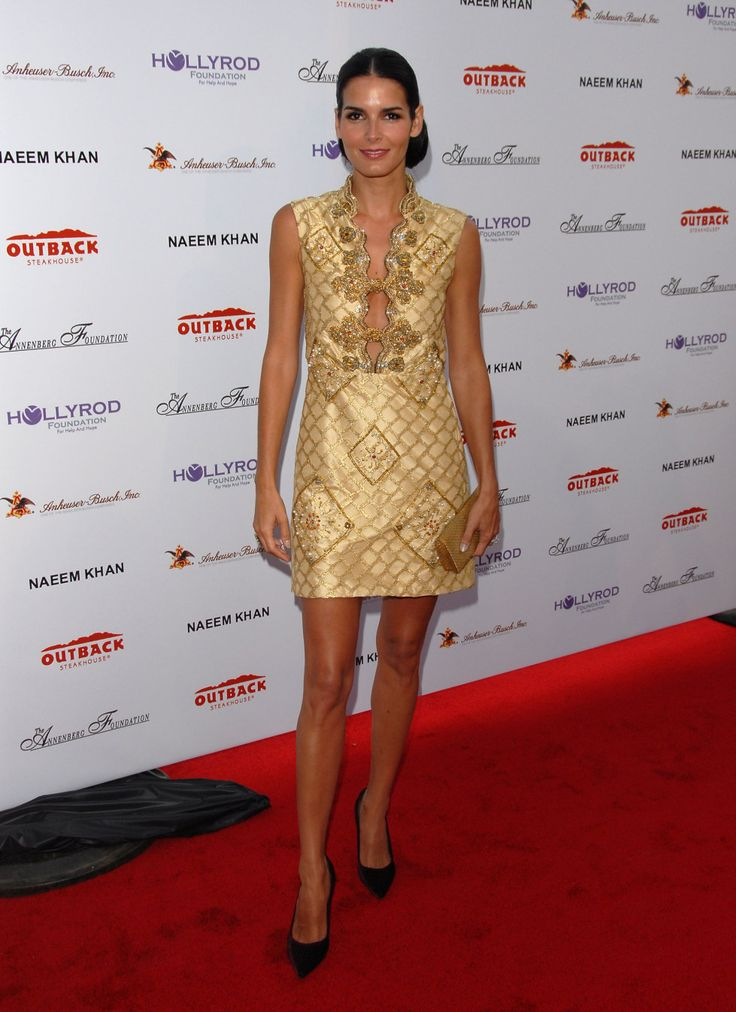 There's just something about Angie Harmon, Gorgeous!