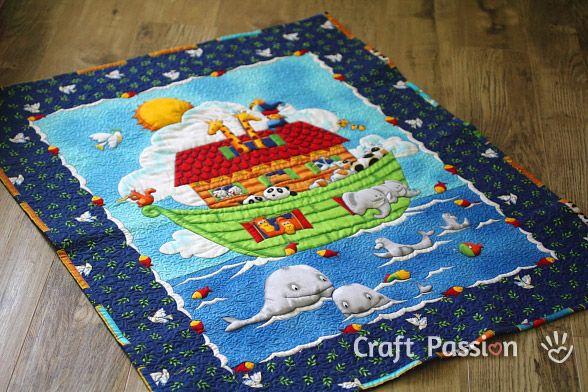 Baby Quilt Panel