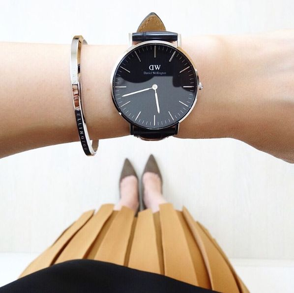 先行販売でGETせよ。ダニエルウェリントンの新作腕時計「Classic Black」がコーディネートをシックに格上げ