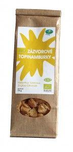 Topinambur sweets (ginger)