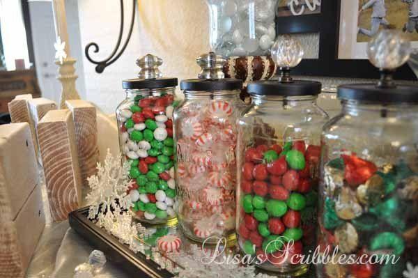 DIY Christmas - Candy Jars
