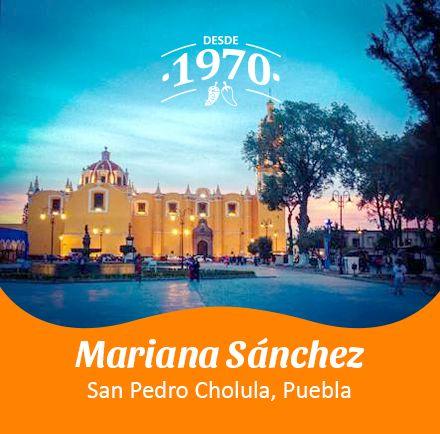 San Pedro Cholula, Puebla por Mariana Sánchez.