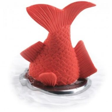 Cadeau malin: Bonde baignoire design poisson rouge