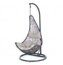 Hangstoel voor hangen in de namiddag zon
