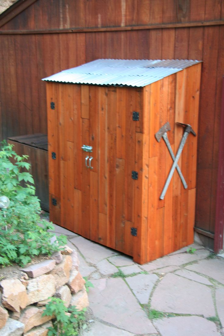 1000 Images About Garbage Can Shed On Pinterest: 27 Best Garbage Sheds Images On Pinterest