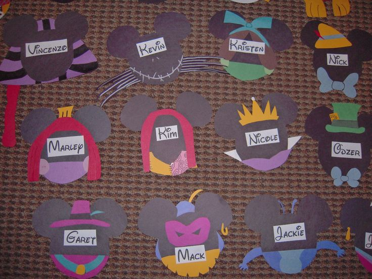 I am SO doing these Disney door decs : disney door - Pezcame.Com