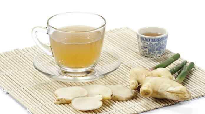 Как приготовить имбирный чай для похудения рецепт | Готовим рецепты