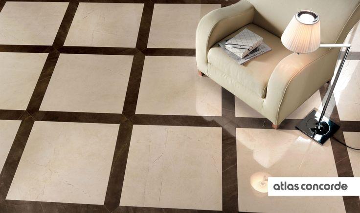 #MARVEL beige   #Floor design   #AtlasConcorde   #Tiles   #Ceramic