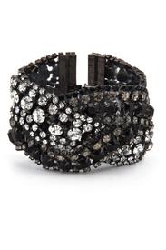 Triple Black Diamond Bracelet