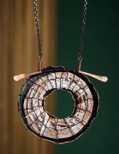Liquid Enamel Necklace from Mary Hettmansperger ...