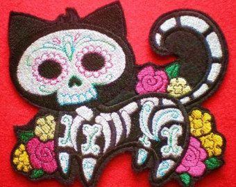 about Dia de los Muertos ~ Gato on Pinterest   Auction, Los gatos ...