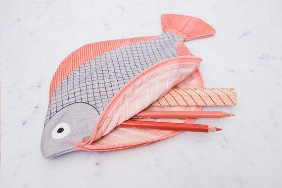 PLIE poisson affaire 100 % coton par DonFisherShop sur Etsy