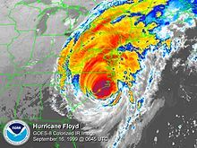 Image result for hurricane floyd