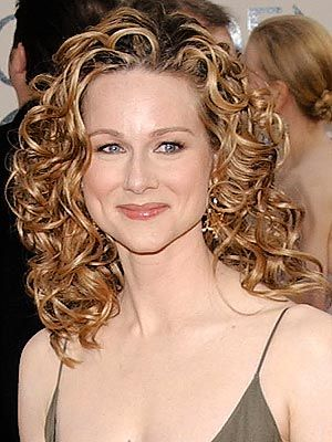 Laura Linney. I like her very much, but beyond that, how can I get my hair to look like that????