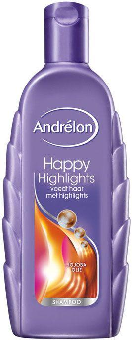 Andrelon Happy Highlights voedt haar met highlights. Deze lijn is verrijkt met…