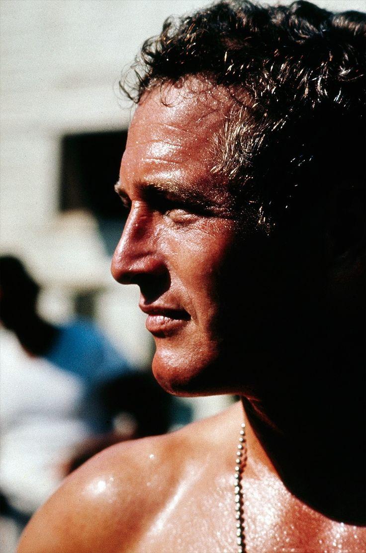 Los ojos azules más bonitos de todos los tiempos <3 Paul Newman