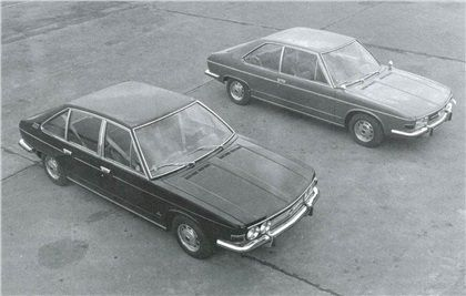 Tatra T613 Prototypes (Vignale), 1969 - Four-Door Limousine (#0-00-29) and Two-Door Coupe (#0-00-26)