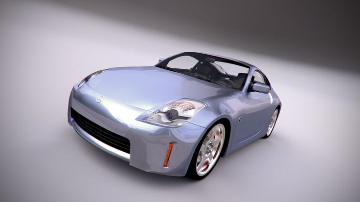 Nissan 350z, Render: Blender Cycles