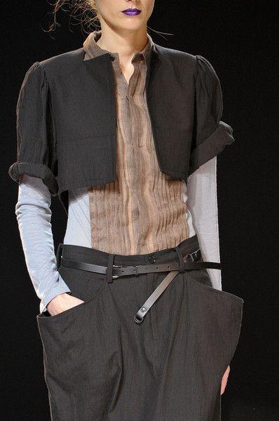 Yohji ...Style, Yamamoto Yohji, Clothing, Fashion Design, Paris Fashion Weeks, Fashion Inquest, Spring 2012, Yamamoto Spring, Yohji Yamamoto