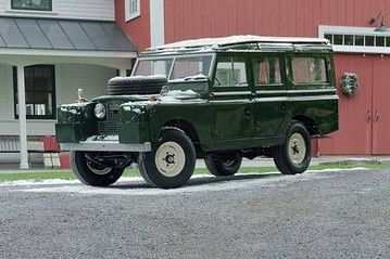 Orvis Online Auction An Old Land Rover At 78 000 And