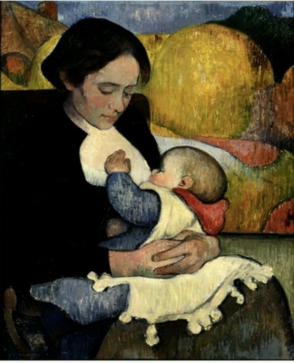 Maternity, 1889  Meijer de Haan