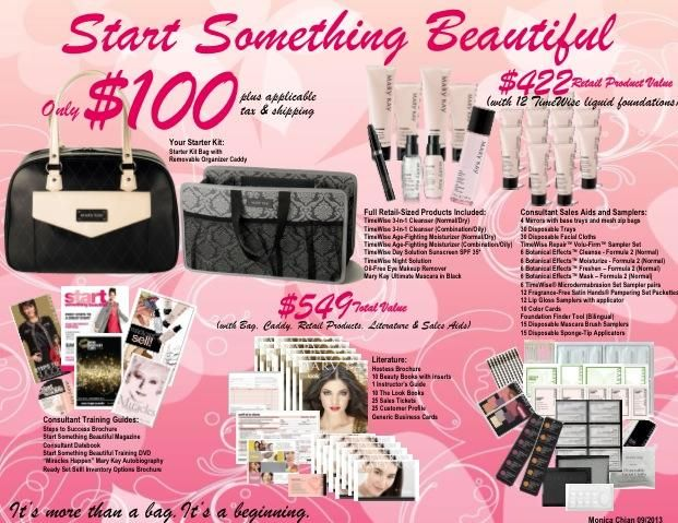 You never know what will come out of your Mary Kay starter kit: Self-Confidence ~ Independence ~ Flexibility ~ Extra income for your family ~ Girlfriends ~ Be your own boss ~ Freedom Whatever your heart desires!  Let's chat! www.marykay.com/staceylynn4