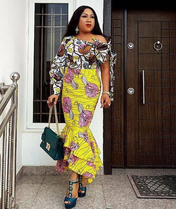 Image result for mix and match ankara styles